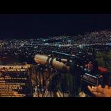 Medellin Nigth stock photos