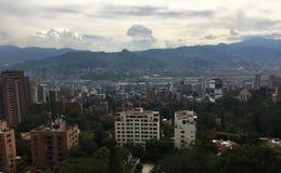 Medellin, a segunda cidade a mais grande em Colômbia imagem de stock royalty free