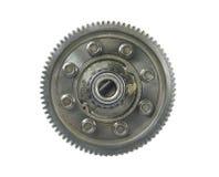 Medelmetallkugghjul royaltyfri foto