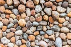 Medelobjekt för stenvägg - Thailand Royaltyfri Fotografi