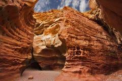 medelpittoresk red för kanjon österut Royaltyfria Bilder