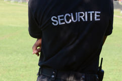 medelsäkerhetsbevakning fotografering för bildbyråer