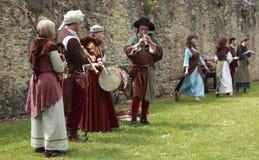 medeltida band Royaltyfri Fotografi