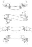 medeltida band vektor illustrationer