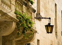 medeltida barock facade arkivfoton
