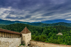 medeltida bastion arkivfoton