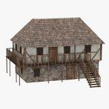 Medeltida building14 Arkivfoton