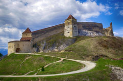 medeltida citadel royaltyfri foto