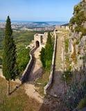 medeltida croatia fästningklis Arkivbilder