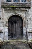 Medeltida dörröppning Royaltyfri Fotografi