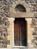 medeltida dörr royaltyfria foton