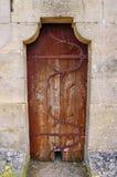 Medeltida dörr, Rocamadour, Frankrike Royaltyfria Bilder