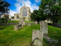 Medeltida Eastbourne församlingkyrka royaltyfri bild
