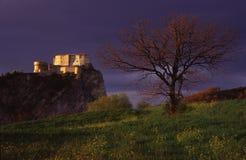 medeltida fästning royaltyfri bild