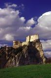 medeltida fästning arkivbilder