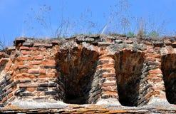 medeltida fästning Arkivfoton