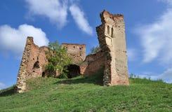 medeltida fästning Fotografering för Bildbyråer