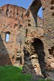 medeltida fästning Royaltyfri Foto