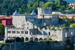 medeltida fästning Arkivbild