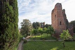 medeltida fästning Royaltyfri Fotografi