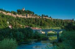 Medeltida fästning av Veliko Tarnovo Arkivfoton