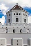 Medeltida fästning för fort i Bangkok Thailand Arkivbilder