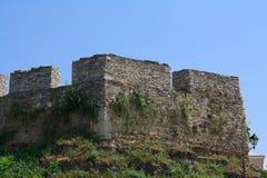 Medeltida fästning i Kamenets Podolskiy Arkivfoton