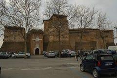 Medeltida fästning i Rimini, Italien royaltyfri fotografi