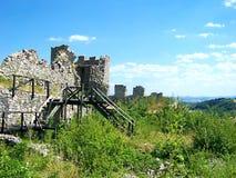 Medeltida fästning Koznik Royaltyfria Bilder