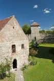 Medeltida fästning, Rumänien Fotografering för Bildbyråer