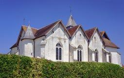 Medeltida församlingkyrka Royaltyfri Bild
