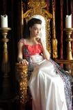 Medeltida fantasiprinsessa royaltyfria bilder