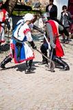 medeltida festival 2011 Arkivbilder