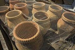 medeltida fiskjar Royaltyfri Fotografi