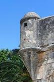 medeltida fort Arkivfoto