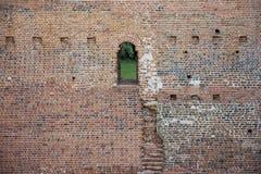 medeltida gammalt för dörr Arkivfoton