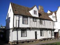 medeltida gammalt för engelskt hus Arkivfoton