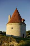 medeltida gammalt torn Arkivfoto