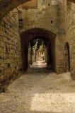 medeltida gata arkivbilder