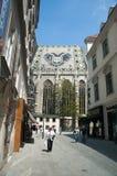 Medeltida gata, Wien royaltyfria bilder