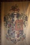 Medeltida heraldiska lager Royaltyfri Bild