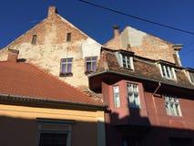 medeltida hus Arkivbilder
