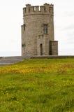 Medeltida irländskt torn Arkivfoton