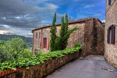 Medeltida Italien Arkivbild