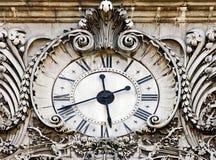 medeltida klocka sent Fotografering för Bildbyråer