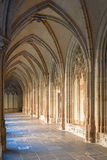 Medeltida kloster av Pandhofen i Utrecht, Nederländerna Arkivfoto