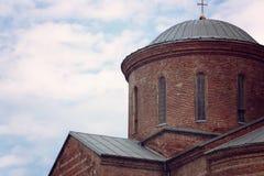 Medeltida kloster för kyrkligt kapell den gamla byggnaden Royaltyfria Foton