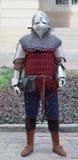 Medeltida krigare arkivbild