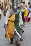 medeltida krigare Royaltyfri Foto