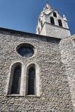 Medeltida kyrka av vår dam royaltyfria foton